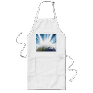 Planet Earth from Space Long Apron