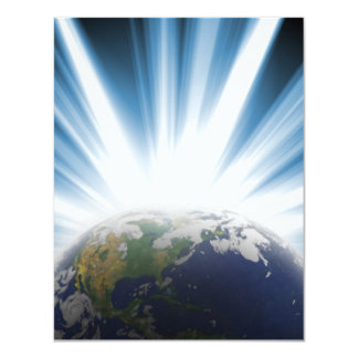 Planet Earth from Space Card