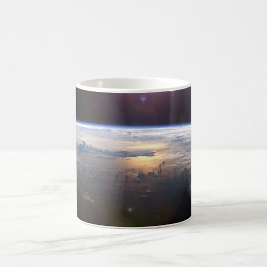 Planet Earth From Space Coffee Mug