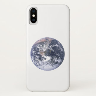 Planet Earth From Space Earth Day iPhone X Case