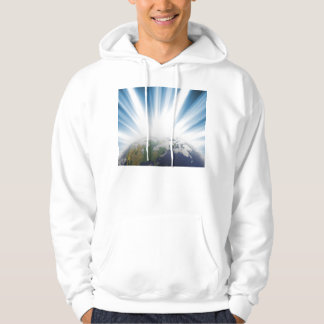 Planet Earth from Space Hoodie