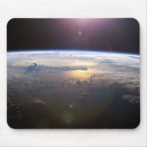 Planet Earth From Space Mouse Pads