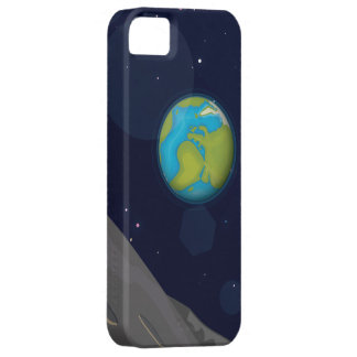 Planet Earth from the moon iPhone SE/5/5s Case