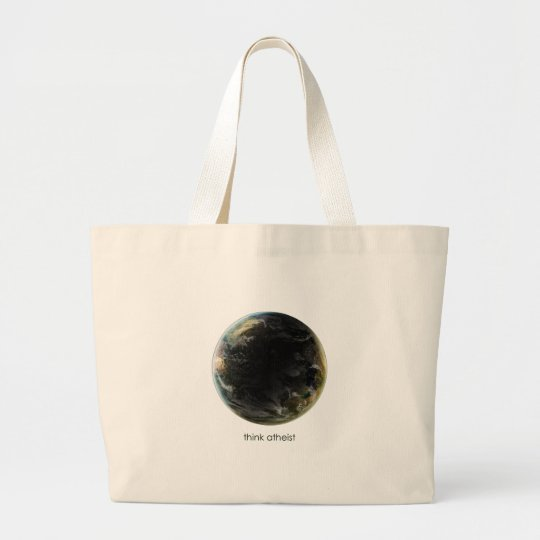 Planet Earth Gear Large Tote Bag