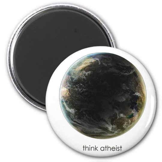 Planet Earth Gear Magnet