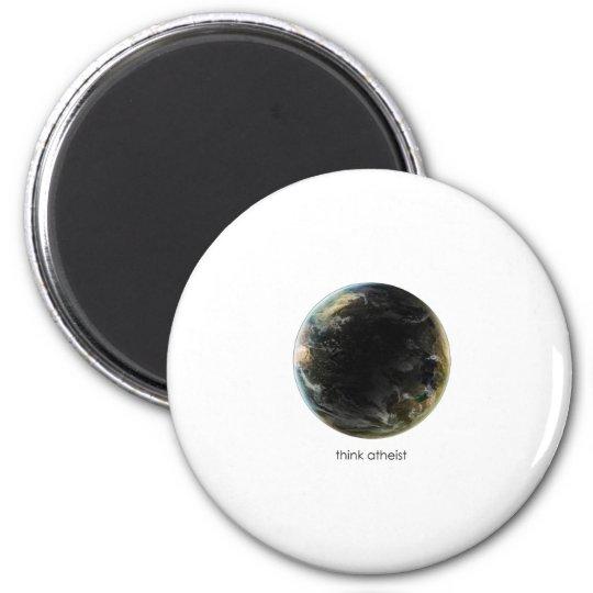 Planet Earth Gear Magnet
