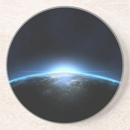 Planet.earth Glasunderlägg