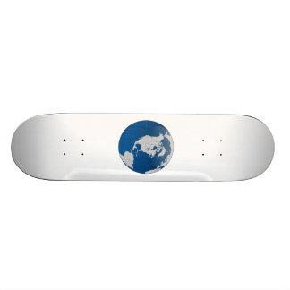 Planet Earth Globe Skate Deck