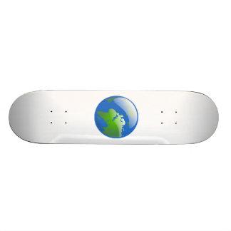 Planet Earth Globe Skate Board Decks