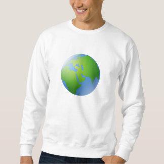 Planet Earth Globe Sweatshirt