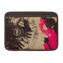 Planet Earth grunge macbook MacBook Sleeves