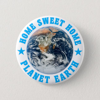 Planet Earth Home Sweet Home Button