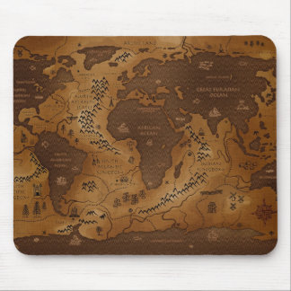 Planet Earth-Inversed Mouse Pad