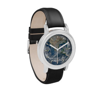 Planet Earth Kid's Stainless Steel Watch