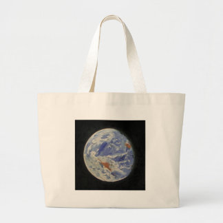 Planet Earth Large Tote Bag