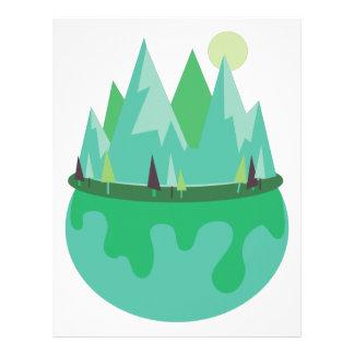 Planet Earth Letterhead
