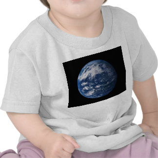Planet Earth Looking At The Pacific Ocean T Shirts