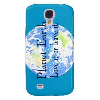 Planet Earth - Love it or Leave It Galaxy S4 Cover
