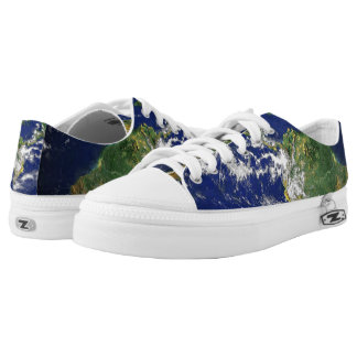 Planet Earth Low-Top Sneakers