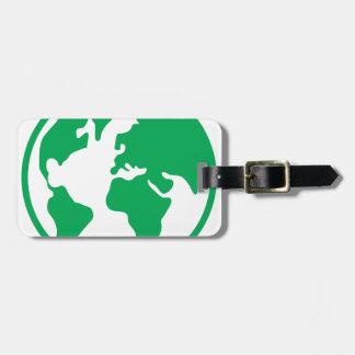 Planet Earth Travel Bag Tags