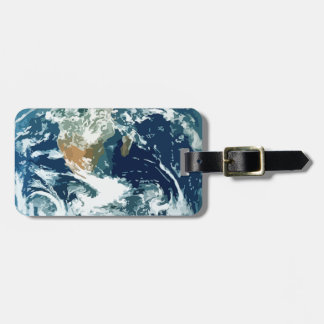 Planet Earth Tags For Luggage