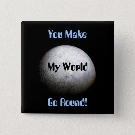 Planet Earth Model Button