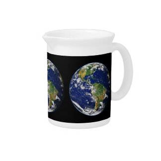 PLANET EARTH natural (solar system) ~ Drink Pitcher