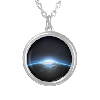 Planet earth halsband