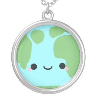 Planet Earth Necklace
