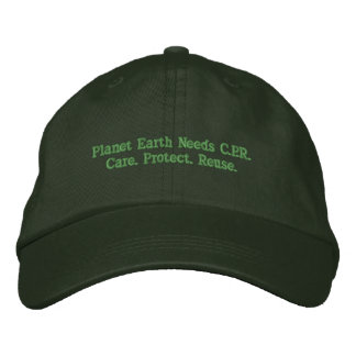 Planet Earth Needs C.P.R. Hat