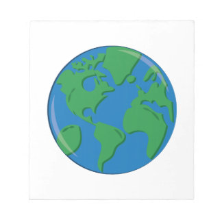 Planet Earth Scratch Pads