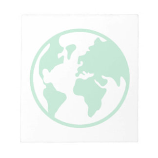 Planet Earth Memo Pad