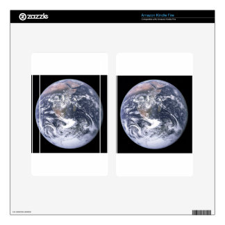 Planet Earth - Our World Decals For Kindle Fire