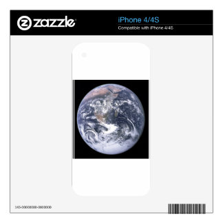Planet Earth - Our World Skin For iPhone 4S