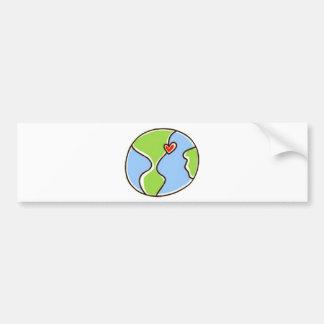 Planet Earth Picture! Bumper Stickers