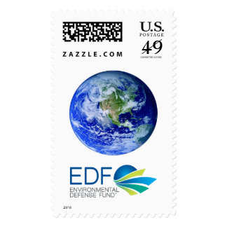 Planet Earth Postage Stamp