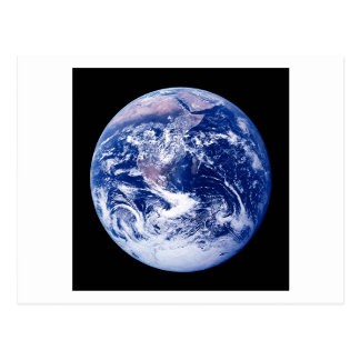 Planet Earth Postcard