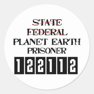 Planet Earth Prisoner 2 Stickers