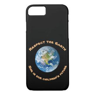 Planet Earth Respect Children Future iPhone 7 Case