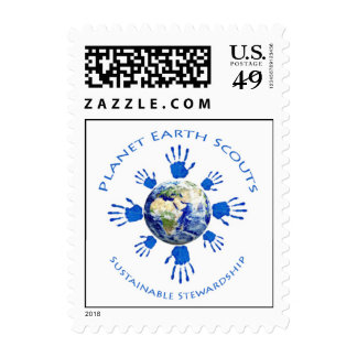 Planet Earth Scouts Postage Stamps