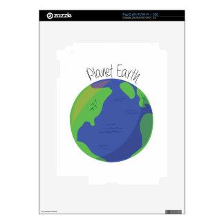 Planet Earth iPad 2 Skin