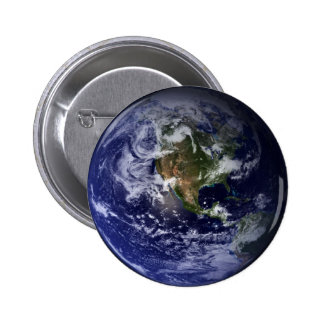 Planet Earth Space Photo Buttons