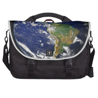 PLANET EARTH SPACE PHOTOGRAPHY BLUES GREENS BLACK COMMUTER BAGS