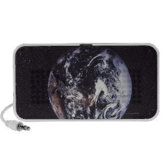Planet earth notebook speakers