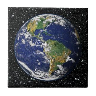 PLANET EARTH star background (solar system) ~ Tile