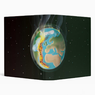 Planet Earth Tectonic Plates Binder