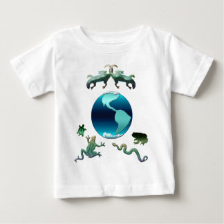 Planet Earth with Herps Baby T-Shirt