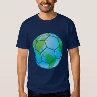 Planet Earth World Cup Soccer Ball Tshirt