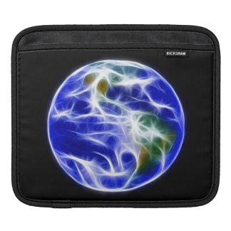 Planet Earth World Globe iPad Sleeve