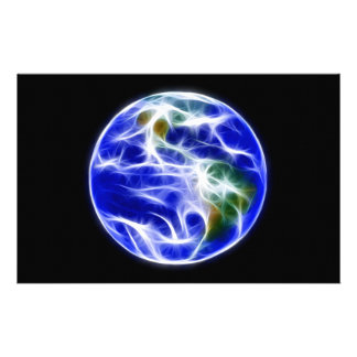Planet Earth World Globe Stationery